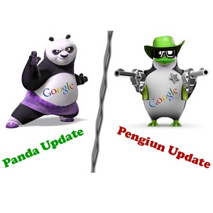 Google Panda y Google Penguin